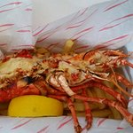 1/2 Lobster with chips