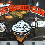 The Bearded Clam front window