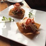 This wonderful appetizer was a Chef Special one night! Delish!!! Ahi Tuna