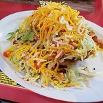 Small Indian taco