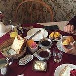 desayuno completo y riquisimo!