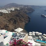 Altana houses best located hotel in Santorini & amazing view to all west part of caldera and Uni