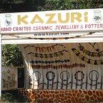 Kazuri bus stop