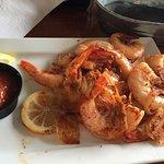steamed shrimp (delish!)