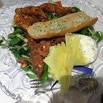 Delicious chicken salad