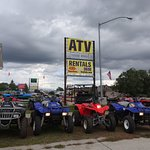 American ATV Rentals has a range of ATVs and dirt bikes for rent
