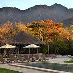 pool and Sierra de Alamos
