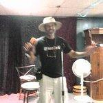 Keith doing Karaoke!