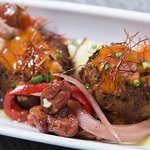 Scallop & Charred Octopus Fritters