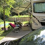 Our RV Site - Full Hookup