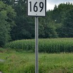 Route 169 Signpost - Woodstock, CT