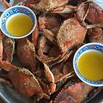 Steamed Maryland Blue Crabs at Shymanksy's