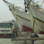 Sunda Kelapa Harbour Foto