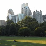 Evening at Piedmont Park