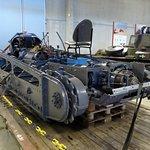 Ett exemplar av Sveriges första stridsvagn, fm/21, håller på att renoveras till körbart skick