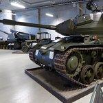 I bangrunden prototypen till Kanonvagn 1