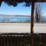 Beautiful Mono Lake from the front porch of the room.