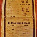 beverages on menu