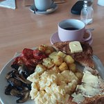 Vegetarian Breakfast at Clementines - Yummy!