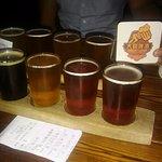 Half meter of beer