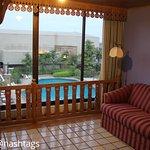 Chambre 1124 avec vue sur piscine
