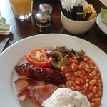 Lovely, small but adequate full English