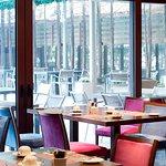 Breakfast setting @ Gred & Ginger restaurant