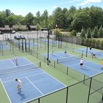 State of the art pickleball courts