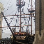 The Golden Hind nearby