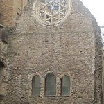 The Rose Window close by
