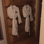 Lovely fluffy robes and towels