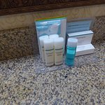 Complete set of toiletries