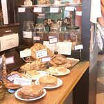 Variety of delicious cakes & cookies to accompany your coffee
