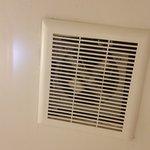 fan with mold/mildew/dust
