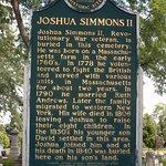 Joshua Simmons II Grave