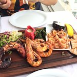 mixed seafood for 2