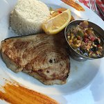 Grilled Sword Fish.