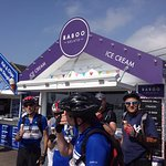 The best ice cream in West Bay - an essential when out cycling.