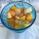 Salade de fruits classique mais fraiche et bonne