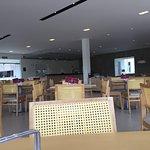 Ampliação do restaurante. Muito espaço, bonito e aconchegante.