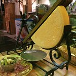 Raclette ready to go....
