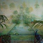 Diana room wall painting