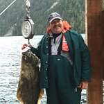 Great Halibut. I personally picked up a 110 pound Halibut.
