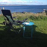 Spent some very relaxing afternoons chilling by the camper looking out to sea!