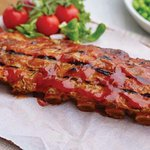 Our famous BBQ ribs, also available in Char sui and Salt and Pepper
