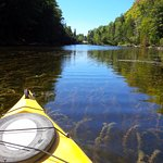 Sauble River by kayak.
