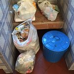 Single bin bag supplied (more at reception)
