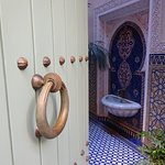 entrance to our private 3-story riad