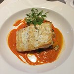 The delicious halibut