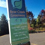 Bear Creek Greenway picks up directly behind the hotel! Excellent paved trail for walking/joggin
